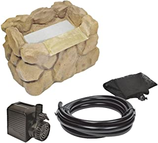 Beckett WFK8S Stone Look Waterfall Kit with Pump, 7