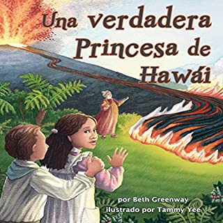 Una Verdadera Princesa de Hawái [A True Princess of Hawaii] audiobook cover art