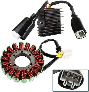 OCPTY Automotive Replacement Ignition Stators Voltage Regulator Rectifier Fit 2004-2007 Honda CBR1000RR 2005 2007 Honda CBR1000RR Repsol