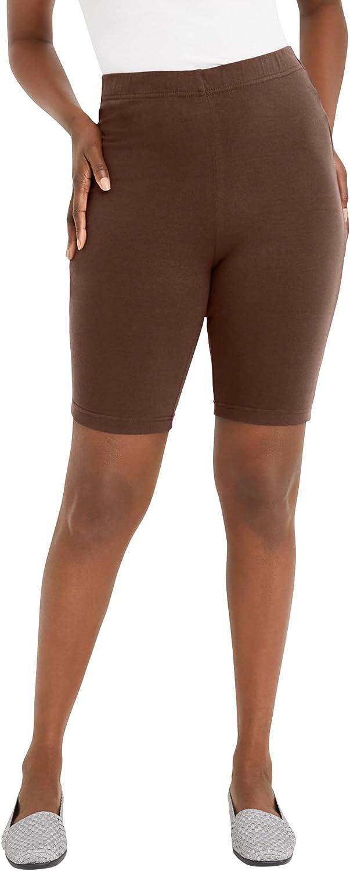 Jessica London Women's Plus Size Everyday Bike Short