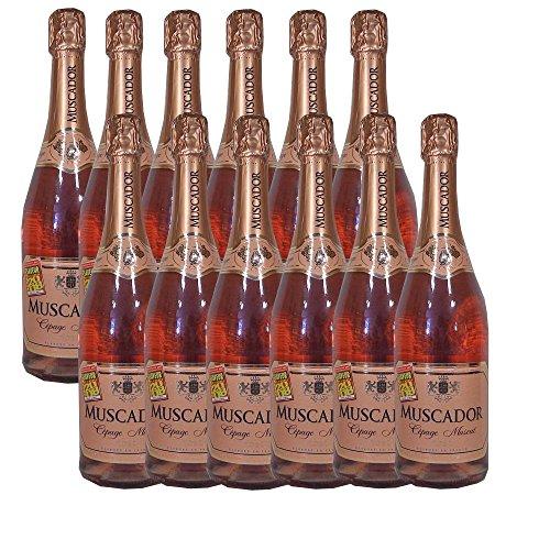 12x0,75L Fl. Muscador Cépage Muscat Rose (Rebsortensekt)(GP=1L=7€)