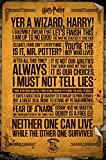 GB Eye Limited Harry Potter Maxi-Poster mit englis