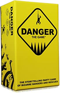 Sponsored Ad - Danger The Game: The Storytelling Party Card Game of Bizarre Dangers and Rescues