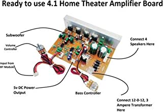 ERH INDIA Ready to use 2.1 Home Theater Amplifier Circuit Board Kit for Home Theatre Complete Home Theatre Amplifier Board Kit