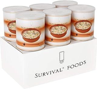 【25年保存/美味しい非常食】サバイバルフーズ[小缶]洋風えび雑炊(6缶入)