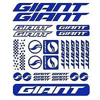HYYT 29pcs巨大ステッカーのための新しい互換性キット自転車のステッカーバイクMTB BDC自転車9色の選択 (Color Name : Blue)