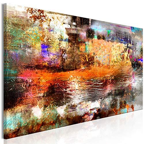 murando Cuadro acústico Abstracto 135x45 cm Impresión Artística...