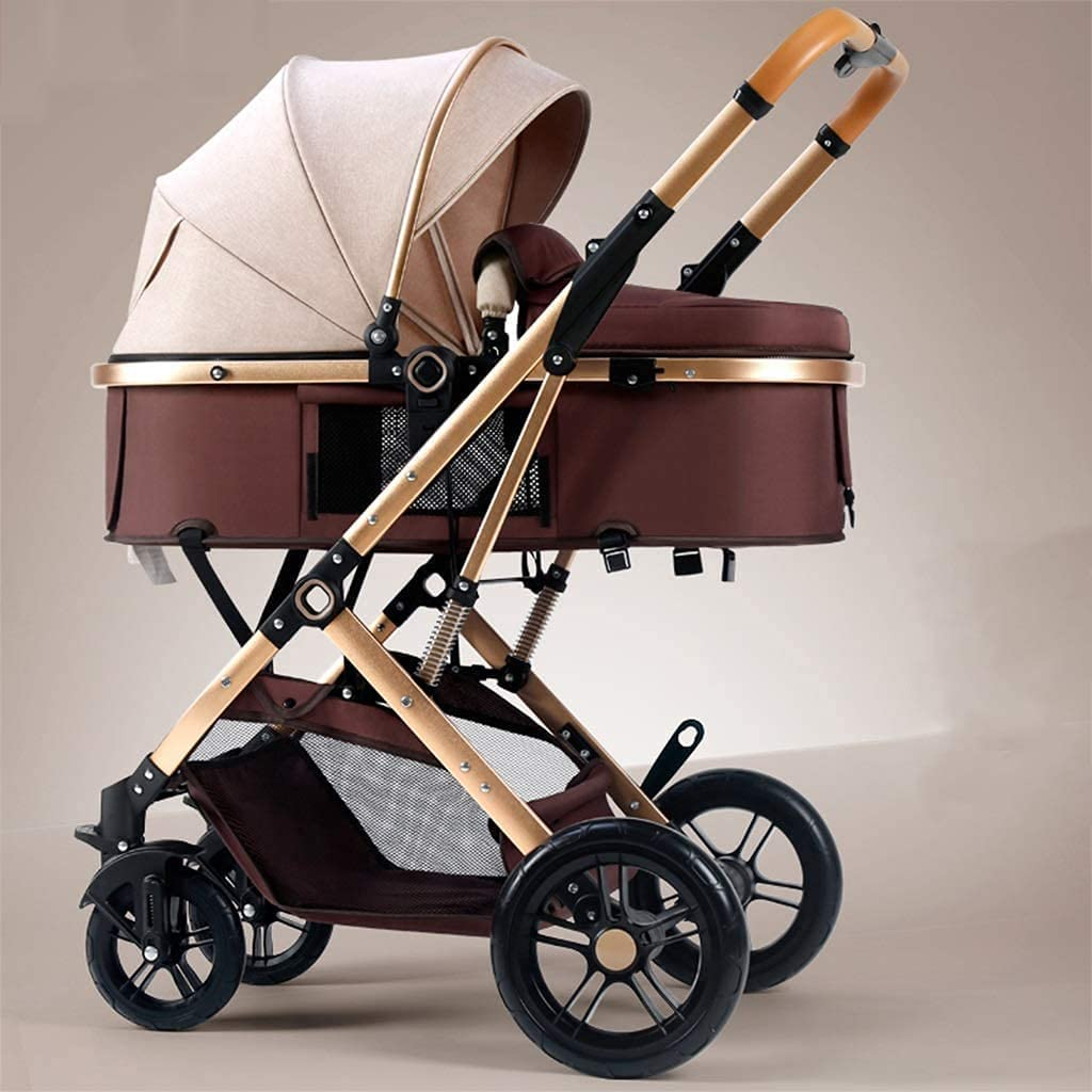 SALENEW very popular 2021 YZPTD Multifunction Baby Stroller Reversible Fol Hand Seat One