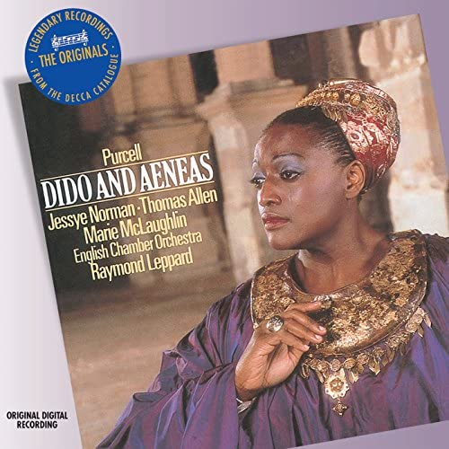 Jessye Norman, Sir Thomas Allen, English Chamber Orchestra, Raymond Leppard & Henry Purcell