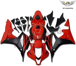 NT FAIRING Glossy Red Black Fairing Fit for HONDA 2007 2008 CBR600RR CBR 600RR New Injection Mold ABS Plastics Bodywork Body Kit Bodyframe Body Work 07 08