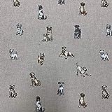 Shabby Tiere Hunde Design Baumwolle Aussehen hochwertigen