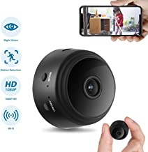 GXSLKWL Hidden Camera, Home Security Camera WiFi Super Night Vision 1080P Wireless Surveillance Camera, 150° Wide-Angle Le...