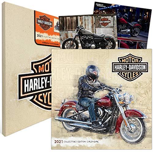 2021 Harley-Davidson Collector's Edition Calendar