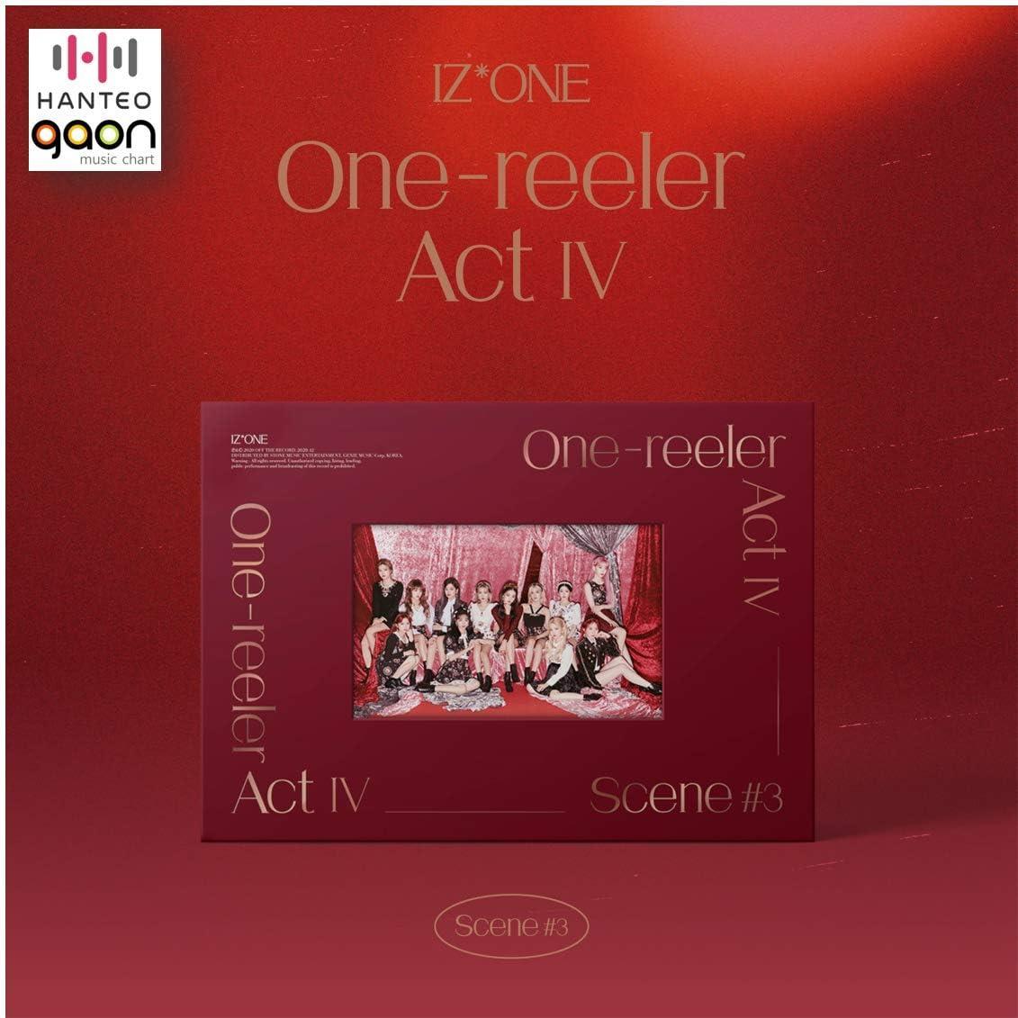 IZONE 全品送料無料 - 'One-Reeler' Act IV Scene #3 輸入 Mini 4th ver. Album