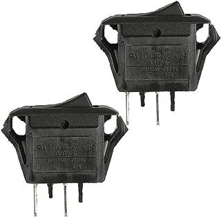 Homelite HG1800 Generator (2 Pack) Replacement Rocker Switch # 760504002-2pk