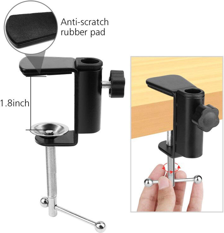 ChromLives Pied de photocopie//vid/éoprojecteur avec Pince de Fixation pour t/él/éphone Portable Mini tr/épied r/églable Compatible avec Smartphone Support vid/éo pour t/él/éphone.