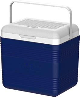 Cosmoplast MFIBXX068BL Keep Cold Plastic Cooler Icebox Deluxe 18 Liters