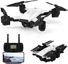 $179 » Foldable Drone with 1080P HD Camera Live Video,JJRC 5G WiFi FPV GPS Drone Long Flight Time 30Mins(15+15) RC Quadcopter with Follow me,Auto Return Home,Rc Folding Drone for Adults