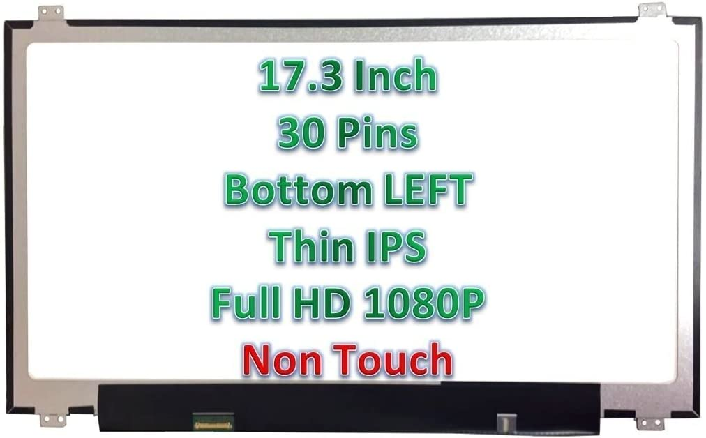 New Envy Nashville-Davidson Mall 17-n178ca Replacement Max 54% OFF Laptop LCD Screen L Full-HD 17.3