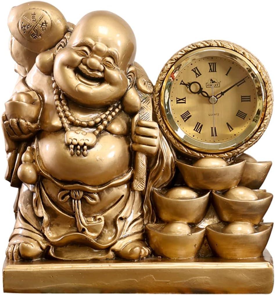 Relojes de escritorio Antiguo reloj de casa de campo retro reloj de sobremesa silencioso reloj de péndulo utilizado para decorar el escritorio de la sala de estar, el dormitorio, la oficina, el estudi