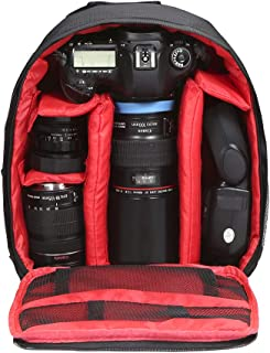 Outdoor Camera Bags Small DSLR Digital Camera Video Backpack Water-resistant Multi-functional Breathable
