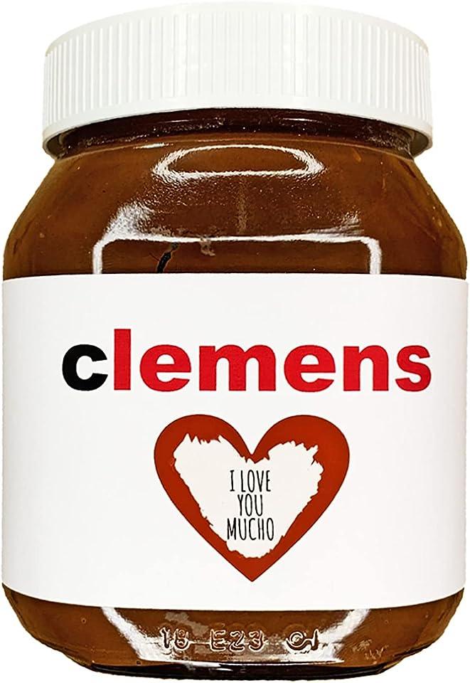 Etikett mit Rubbellos | z.B. für Nutella | Name | Personalisierung mit Wunschtext | Gutschein | Geschenk | Personalisiertes Label | Hochzeit
