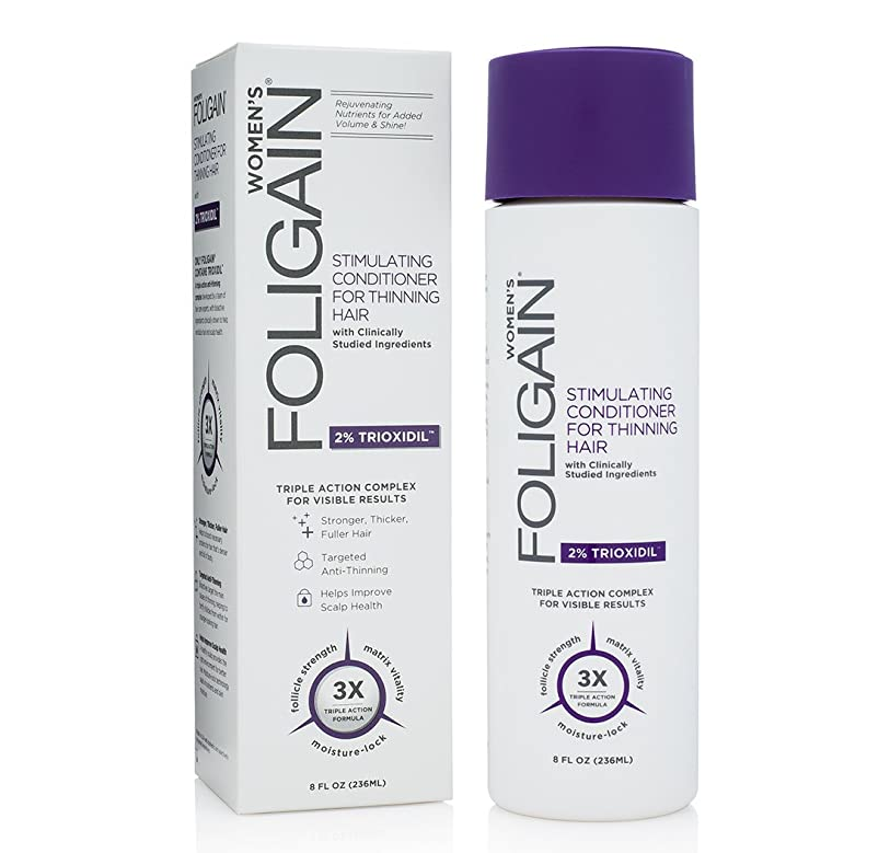 ぼかしレーニン主義断言するフォリゲイン2%トリオキシジルシンニングヘアコンディショナー236ml / 8オンス
