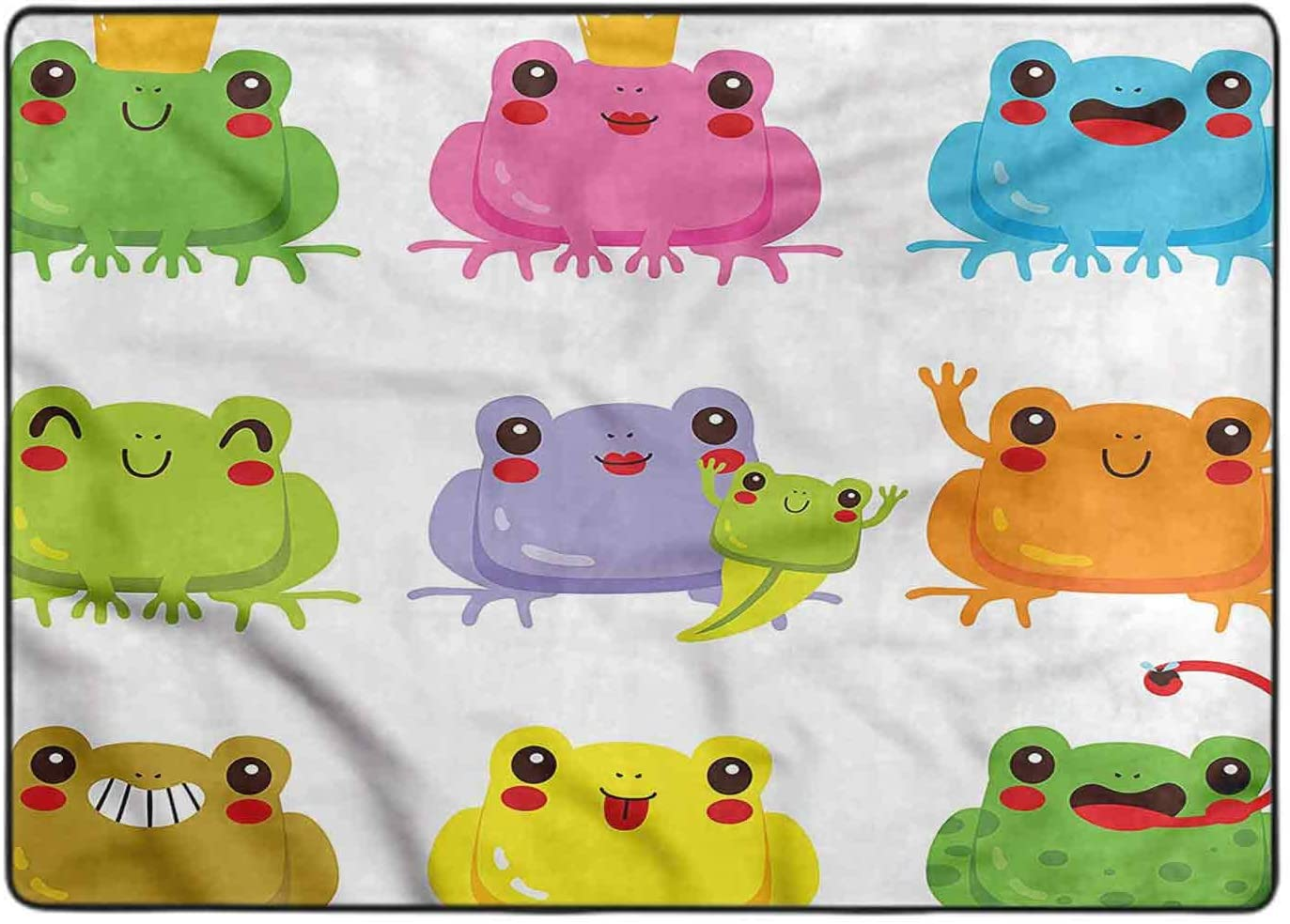 Area Rug for Bedroom Kawaii King and Dedication Ft fo x Queen 7 Amphibian 5 Popular products