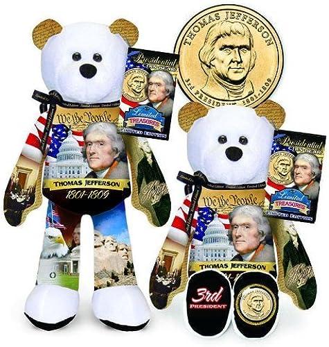 caliente Limited Treasures Treasures Treasures - Presidential Bear - Jefferson by Limited Treasures  para barato