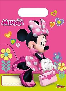 Procos Disney 53826 Minnie Maus Deko Party Taschen