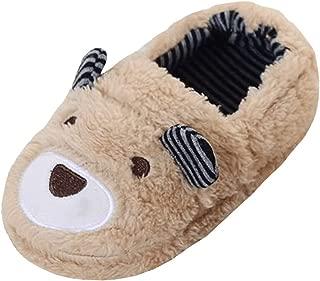 Boys Slippers Cartoon House Shoes