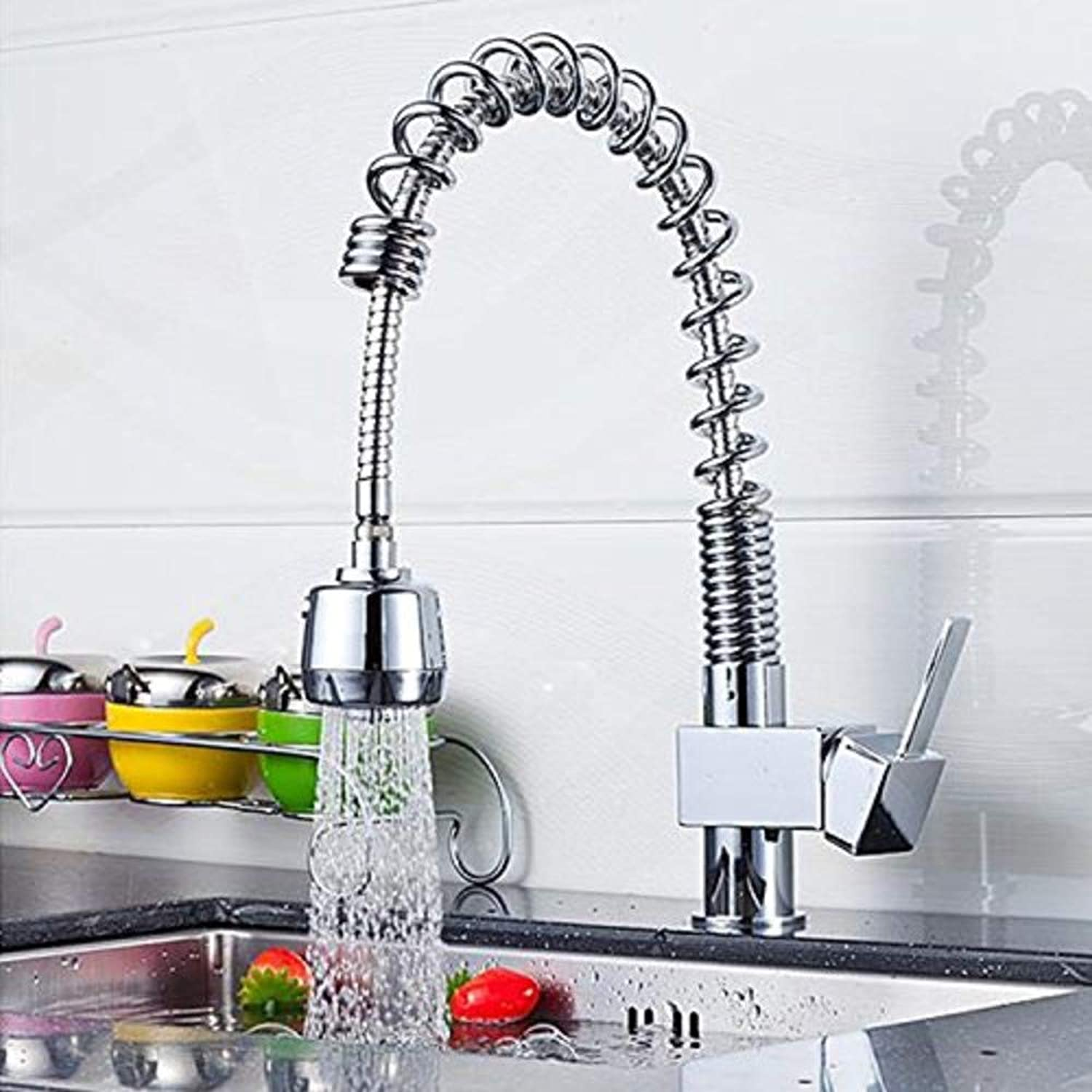 Water Tap Tools Taps 304 Stainless Steel Hot and Cold Kitchen Faucet Sink Sink Faucet