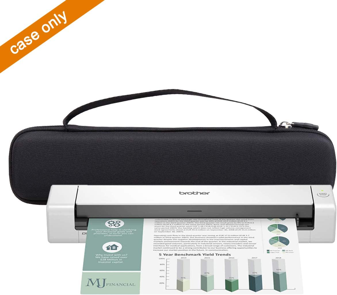 Aproca Hard Travel Storage Case for Brother DS-640 DS-740D / Doxie Go SE - The intuitive Portable Scanner