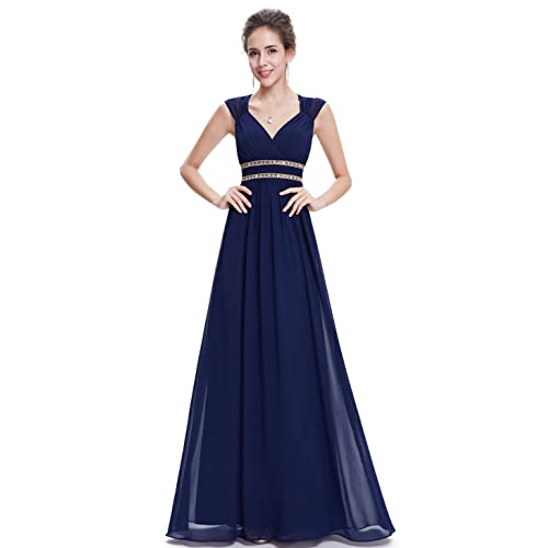 0798a70a33e Ever Pretty Women s Elegant V-Neck Long Evening Dress 08697