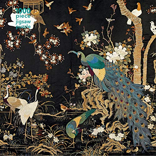 Adult Jigsaw Puzzle Ashmolean Museum - Embroidered Hanging With Peacock: 1000-piece Jigsaw Puzzles
