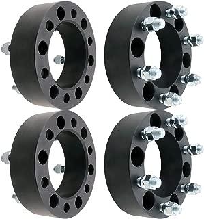 DCVAMOUS 6 Lug Black 6x5.5 Wheel Spacers 2