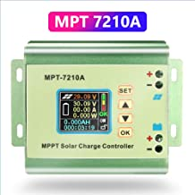 Fuhuihe MPT-7210A Charge Controller Battery Solar Panel MPPT with LCD Display for 24/36/48/60/72 V Battery