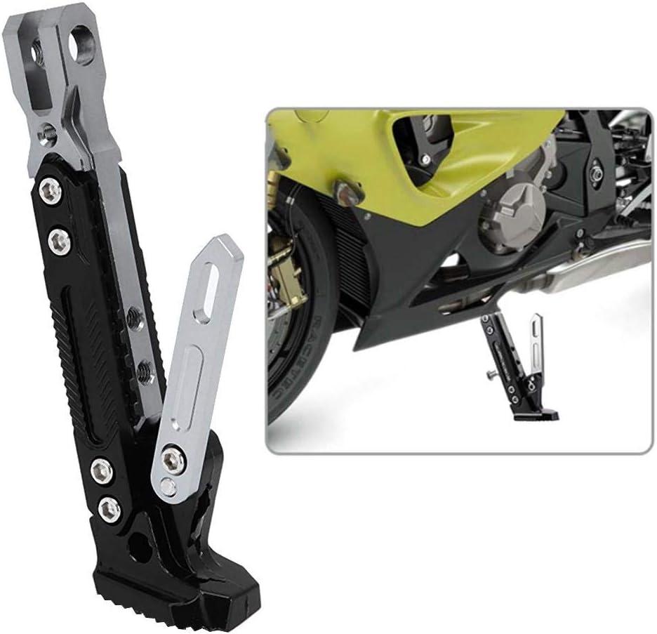 Titane support dhorizon de cadre de moto supports lat/éraux r/églables de b/équille en alliage daluminium B0503 B/équille lat/érale