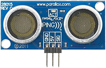Parallax Ping Ultrasonic Range Sensor 28015