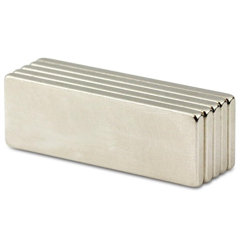 失礼便益組強力磁石マグネット N50ネオジム磁石 角型マグネット 30*10*2mm ネオジウム (5個セット)