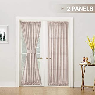 Best solid curtains for french doors Reviews