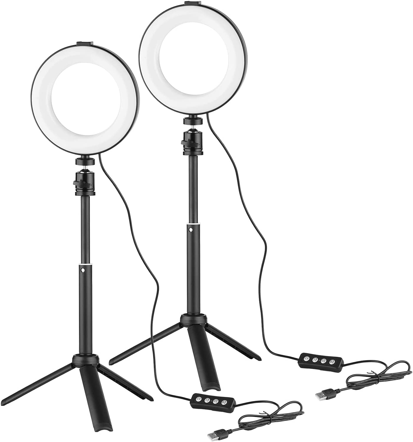 6 Inch LED Ring Light Max 43% OFF with Kit 3200K-6500K Dimmable At the price of surprise 2