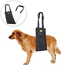 MAVRICFLEX Dog Sling, Dog Lift Harness for Senior and Disabled Pets, Soft Dog Support Sling with Wide Short Plush Pad, Premium Padded Dog Harness Portable Design