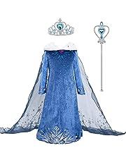 アナと雪の女王 エルサ 子供用ドレス ティアラセット