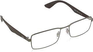 Ray-Ban Eyeglasses RX6332 2850 Matte Gunmetal 53 18 140