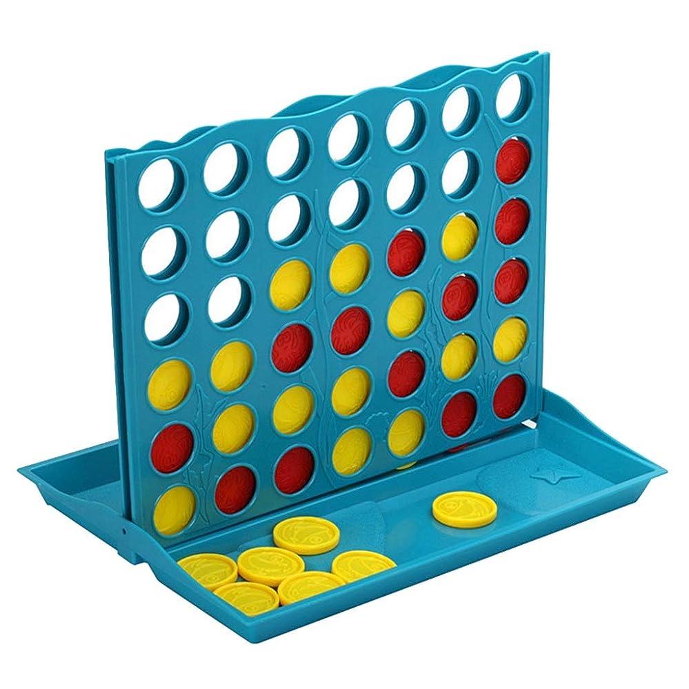 フォーマット忙しいランデブーCHAOQIANG 4コネクト表フレンズチームゲームバッグフィラーボードゲームキッズ幼児玩具ギフト用