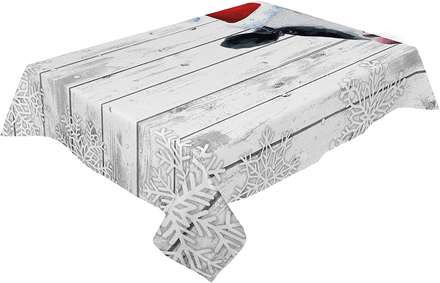 ZL Home Department store Rectangle Dining Table Cloths Ranking TOP18 Farm Christmas R with Cow