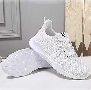 XL_nsxiezi Malla estudiantil Calzado Deportivo Casual Zapatos Damas