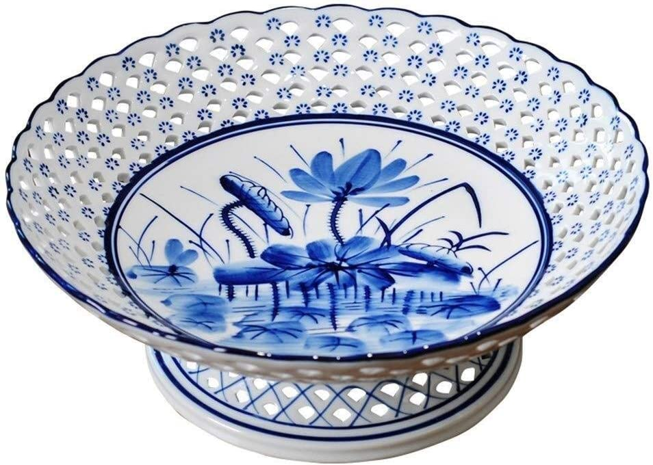 Fruit Bowls Trays,For Al sold out. The Dish And White Blue Animer and price revision Porcela