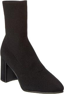 Blondo Women's Heeled Bootie Fashion Boot, Black Knit, 9